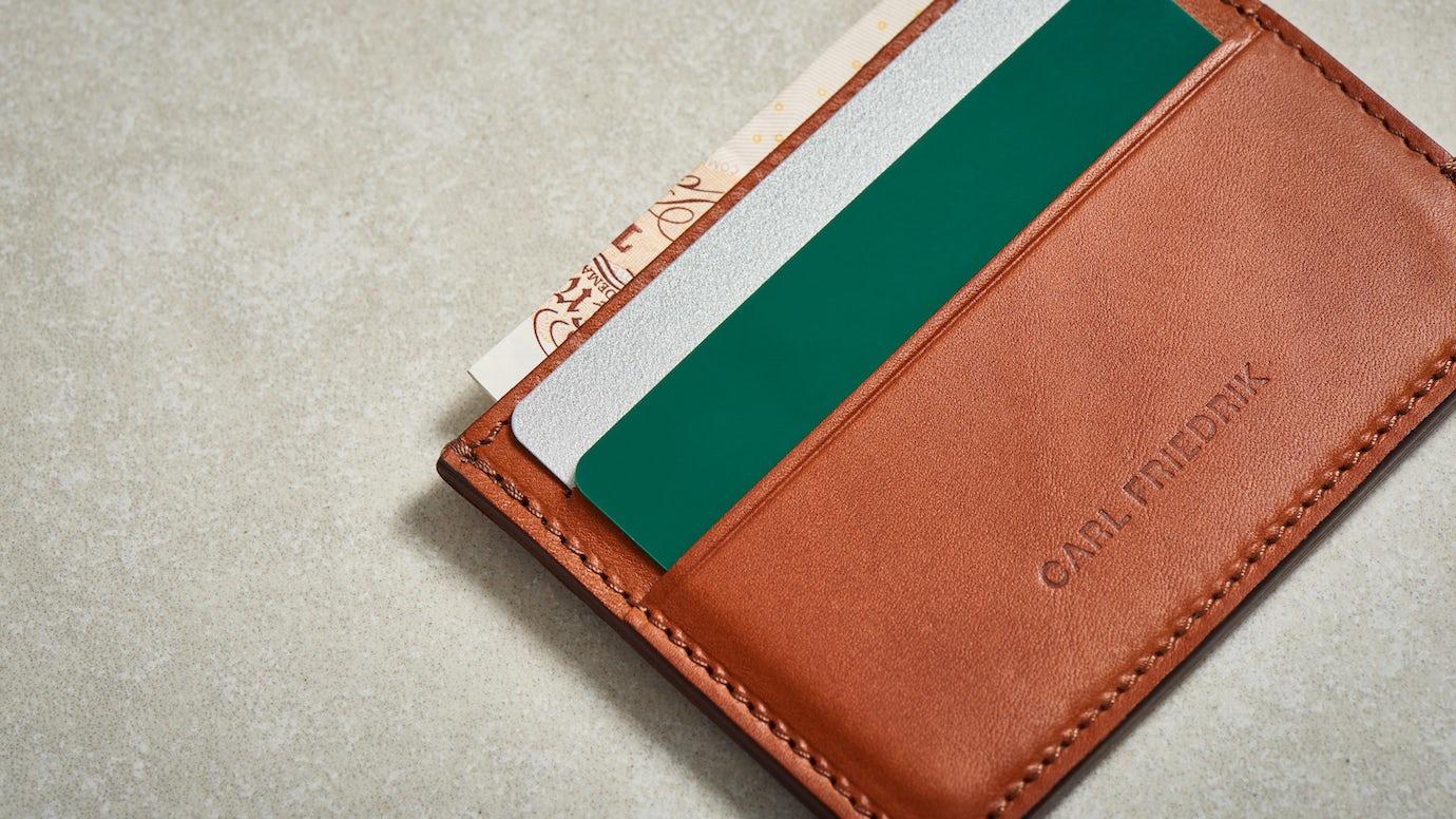 889ecaa1bc Hatton Slim Leather Cardholder | Carl Friedrik™