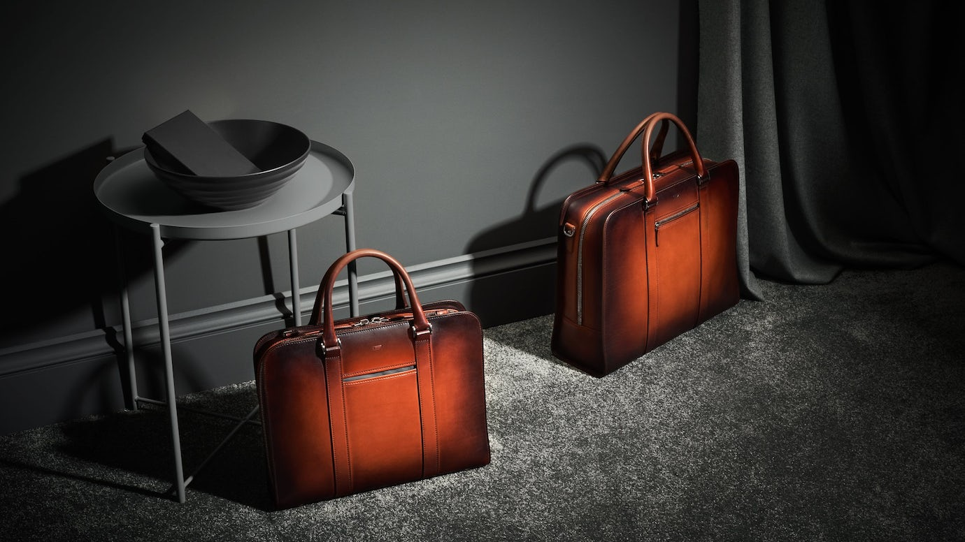 Palissy Briefcase – Patina
