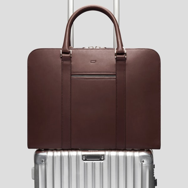 0aba4d9572 Palissy Briefcase Slim Leather Briefcase – Carl Friedrik