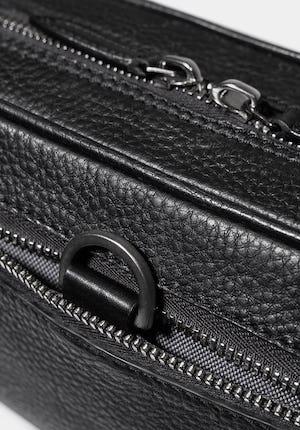 Berwick Grained leather wash bag