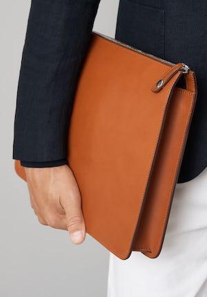 Goswell Slim leather portfolio