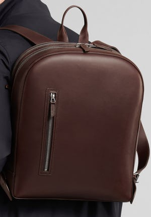 Bowen All-leather backpack
