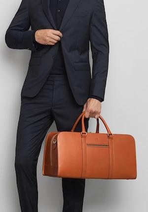 Palissy Weekend Leather weekend bag