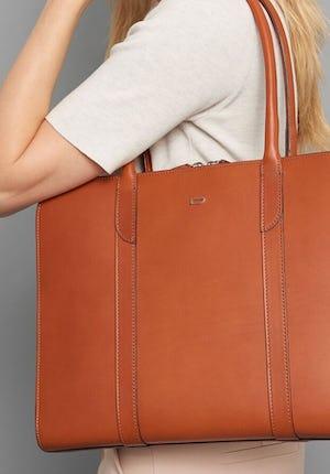 Penton Women's leather briefcase