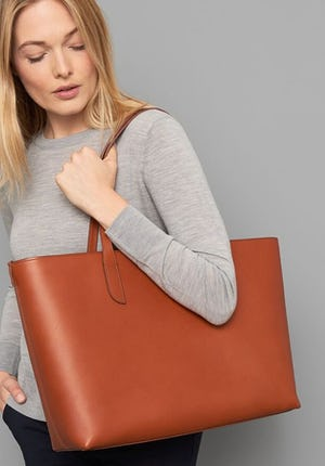 Ashby Women's leather tote